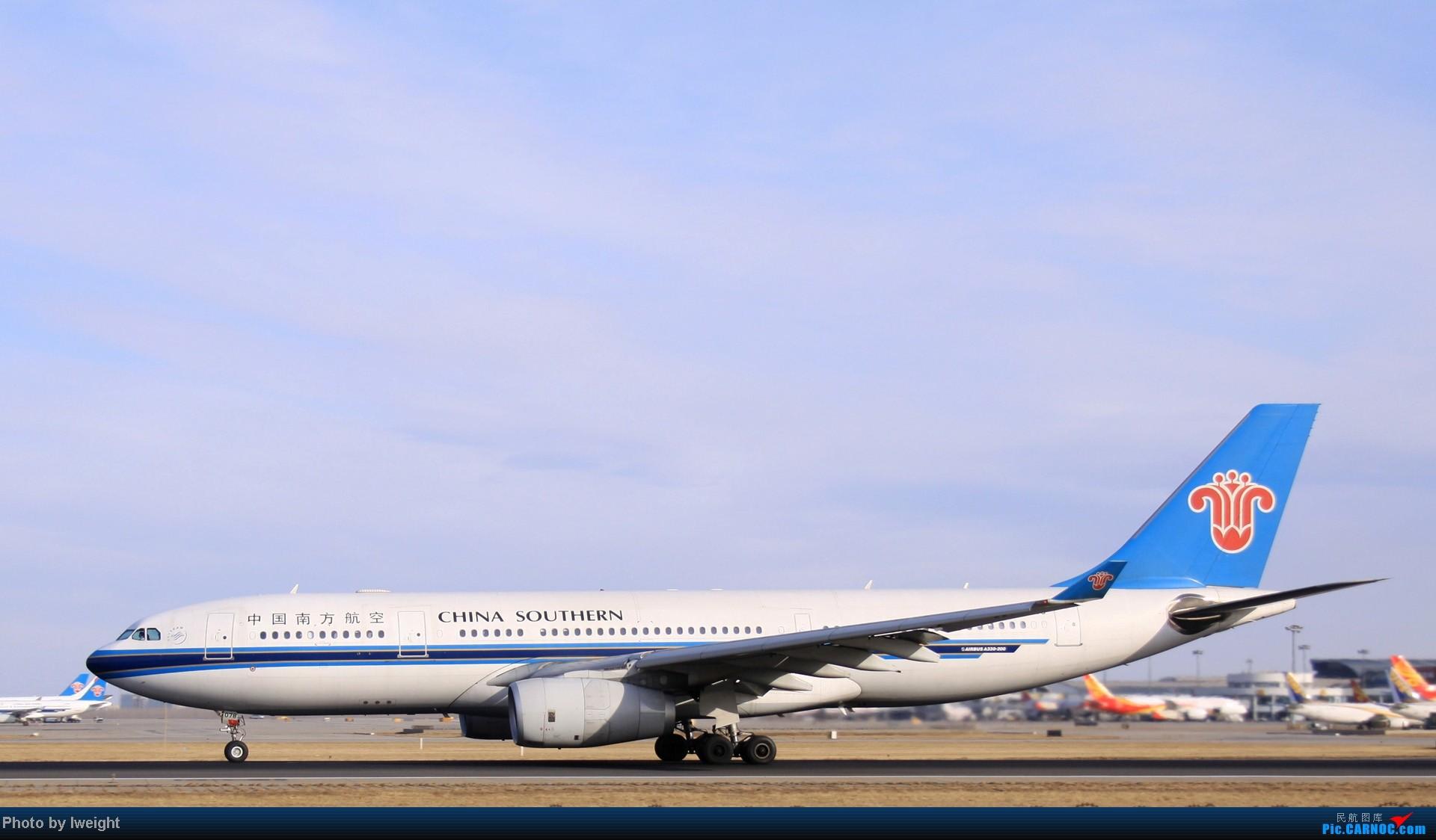 Re:[原创]今天下午瞎拍两个小时的杂图 AIRBUS A330-200 B-6078 中国北京首都机场