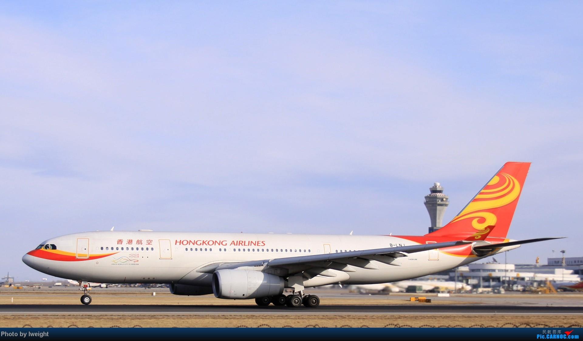 Re:[原创]今天下午瞎拍两个小时的杂图 AIRBUS A330-200 B-LNJ 中国北京首都机场