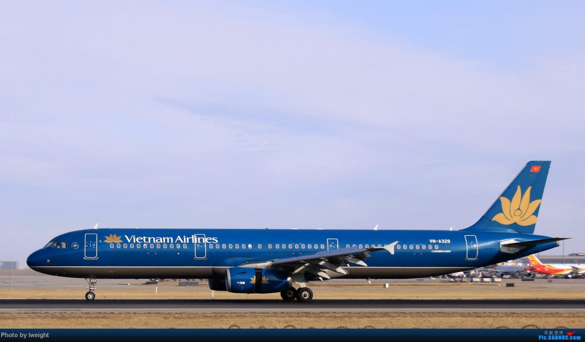 Re:[原创]今天下午瞎拍两个小时的杂图 AIRBUS A321-200 VN-A329 中国北京首都机场