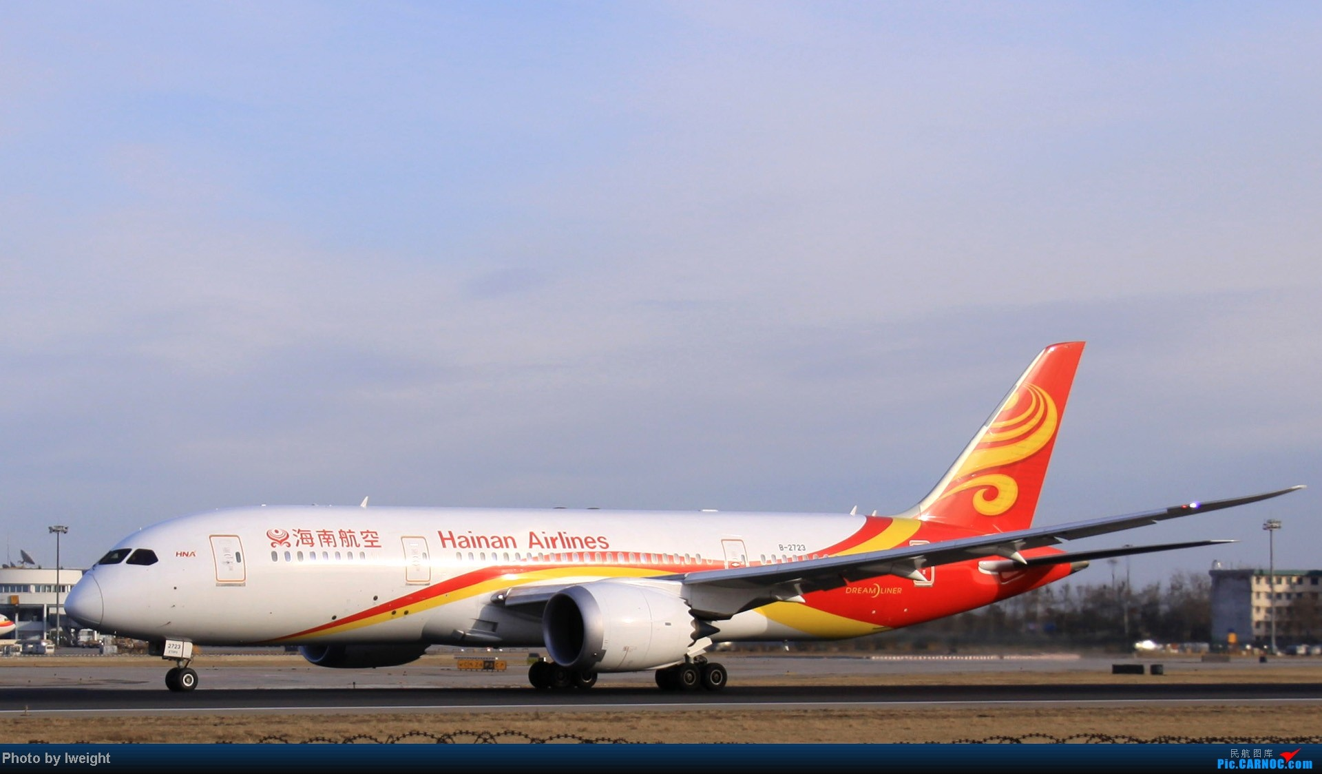 Re:[原创]今天下午瞎拍两个小时的杂图 BOEING 787 B-2723 中国北京首都机场