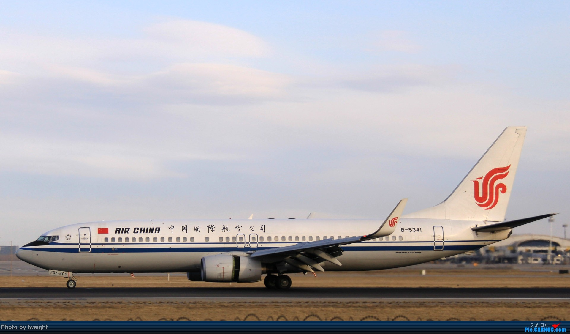 Re:[原创]今天下午瞎拍两个小时的杂图 BOEING 737-800 B-5341 中国北京首都机场