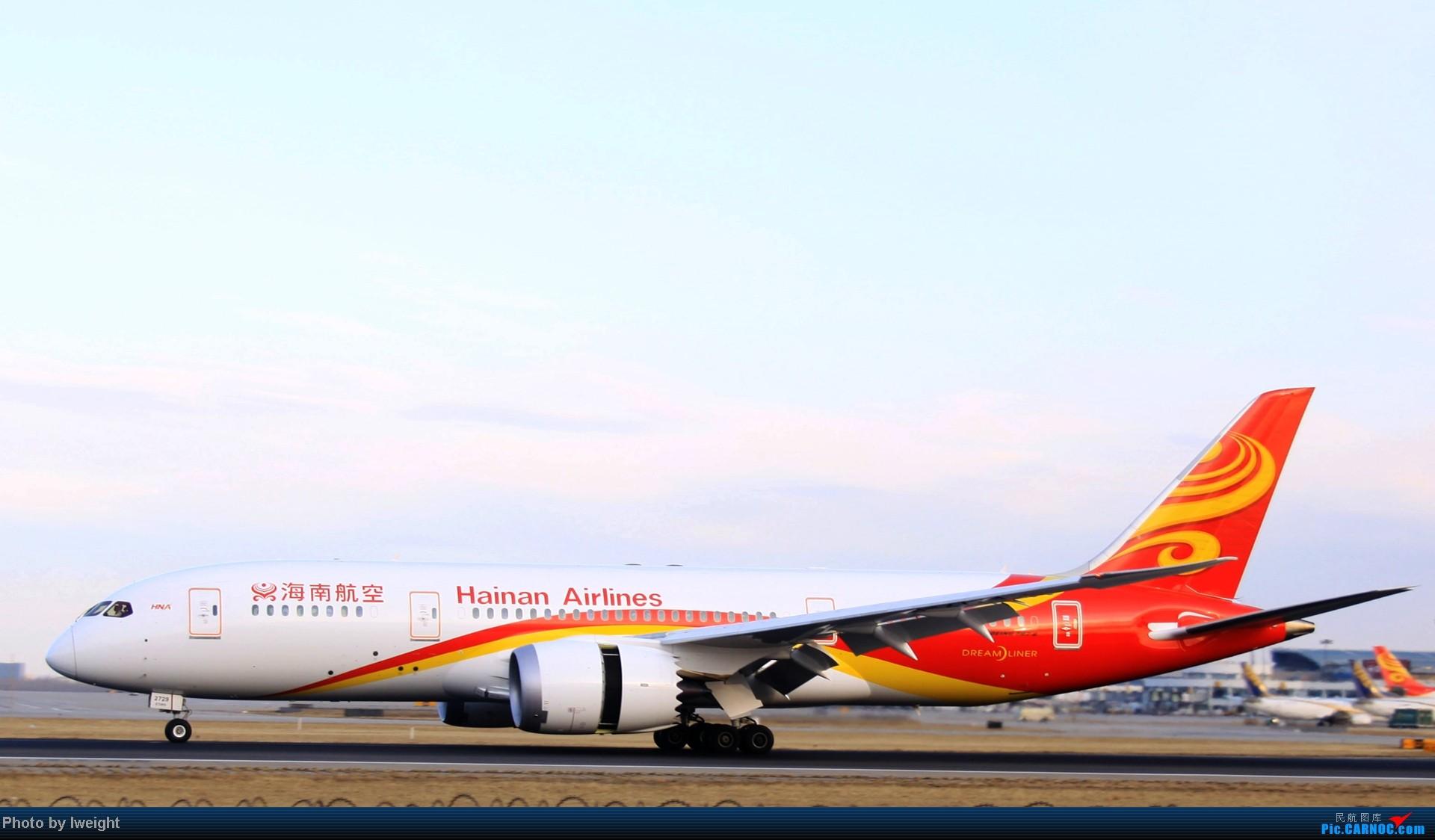 Re:[原创]今天下午瞎拍两个小时的杂图 BOEING 787-8 B-2729 中国北京首都机场