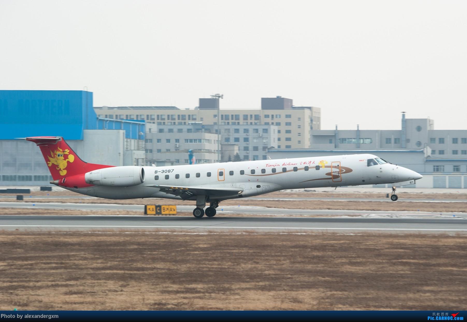 Re:[原创]【SHE】1月27日,桃仙的大灰机和小灰机。 EMBRAER ERJ-145 B-3087 中国沈阳桃仙机场