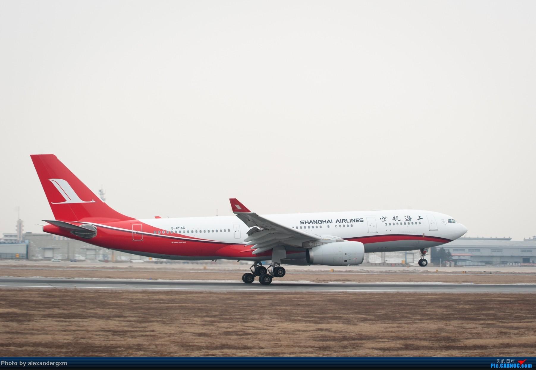 Re:[原创]【SHE】1月27日,桃仙的大灰机和小灰机。 AIRBUS A330-200 B-6546 中国沈阳桃仙机场