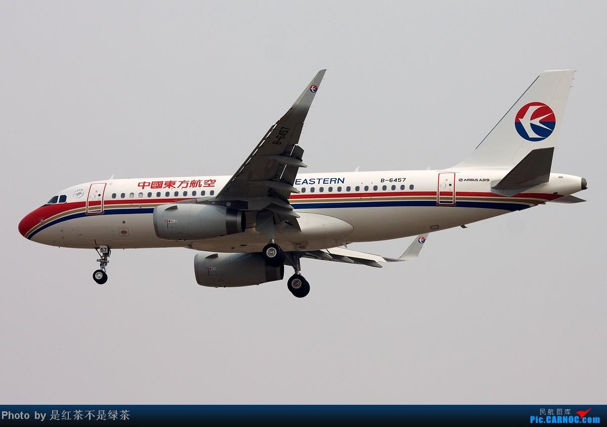 Re:[原创]【红茶拍机】烂天好货,浦东又现伊尔76的身影,附赠东航江苏公司首架A319光临PVG! AIRBUS A319 B-6457 中国上海浦东机场