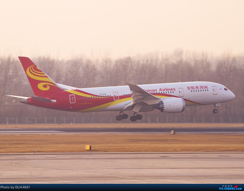 Re:[原创]2014.1月近期 BOEING 787-8 B-2730 中国北京首都机场