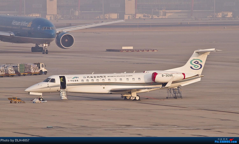 Re:[原创]2014.1月近期 EMBRAER EMB-135BJ LEGACY 650 B-3096 中国北京首都机场