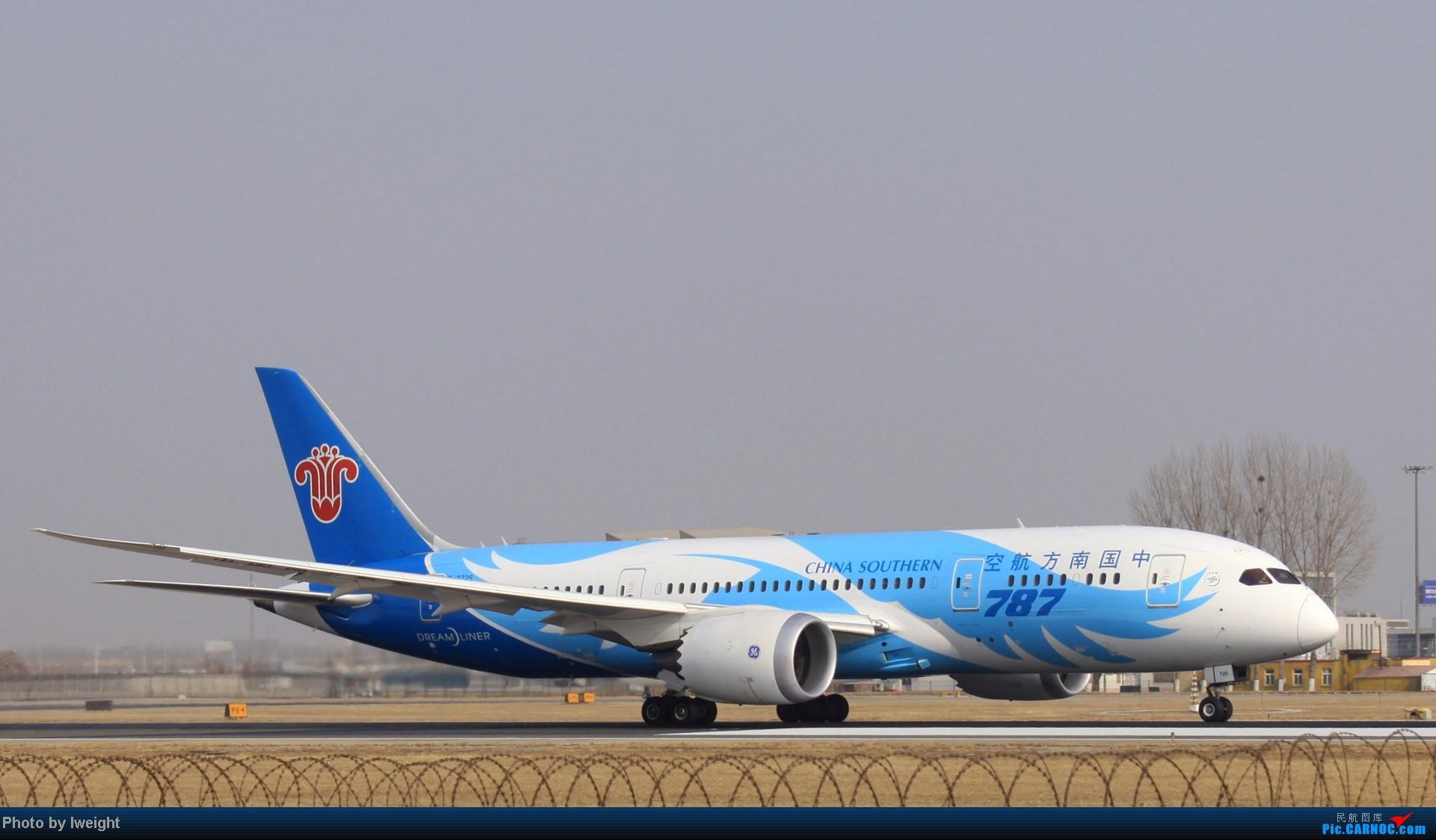Re:新年前繁忙的首都机场 BOEING 787 B-2725 中国北京首都机场