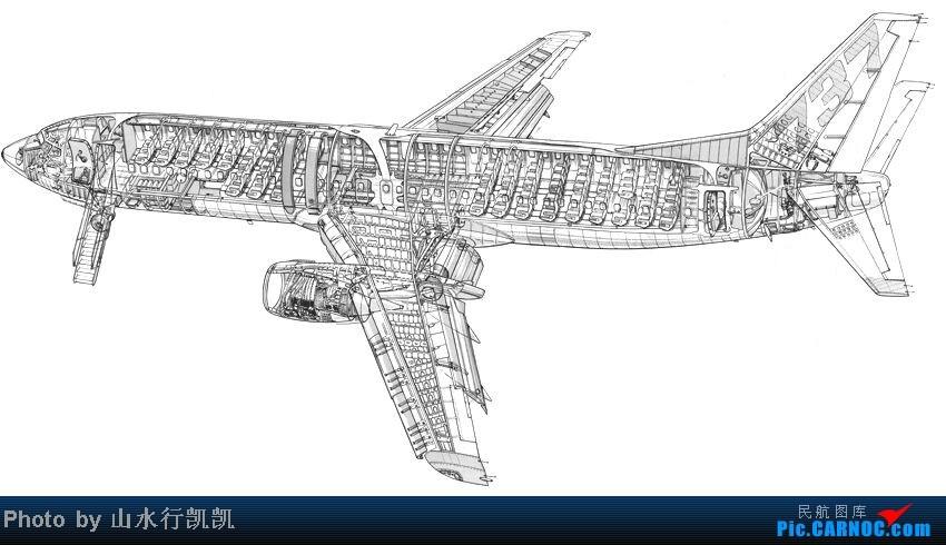 看看客机内部结构图