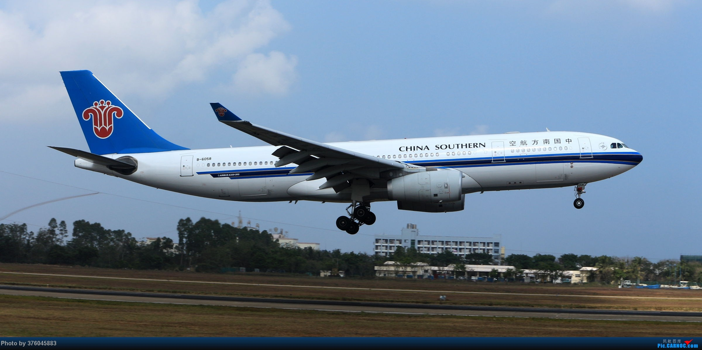 Re:[原创]【海南飞友会】飞友聚会拍机美图放送~ AIRBUS A330-200 B-6058