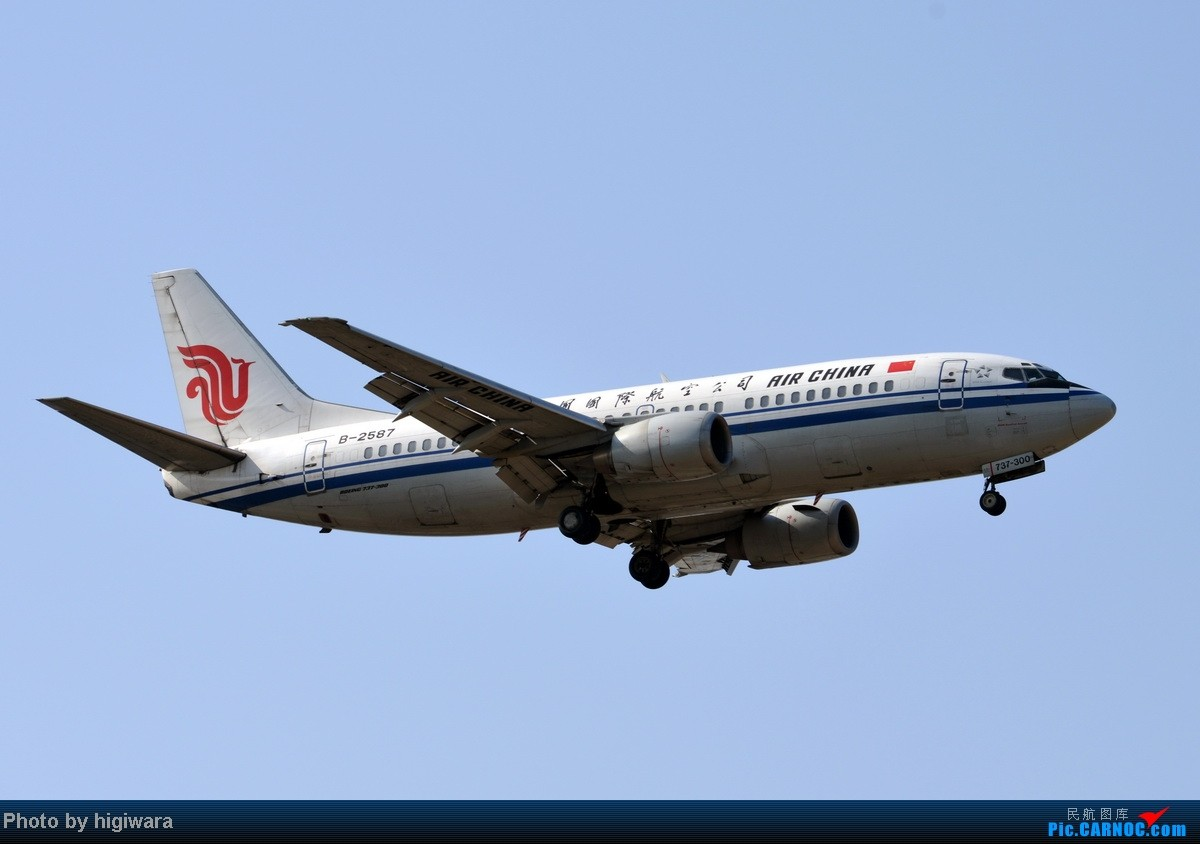 Re:[原创]2013年的一些杂图 BOEING 737-300 B-2587 中国北京首都机场