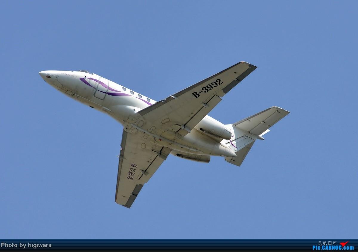 Re:[原创]2013年的一些杂图 HAWKER 800XP B-3992 中国北京首都机场