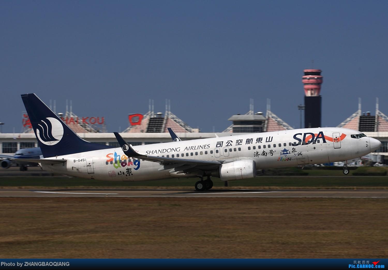 Re:[原创]时隔一年,2014年春节海口美兰拍机 BOEING 737-800 B-5451 中国海口美兰机场