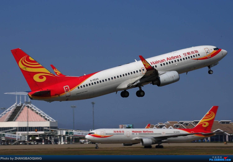 Re:[原创]时隔一年,2014年春节海口美兰拍机 BOEING 737-800 B-5520 中国海口美兰机场