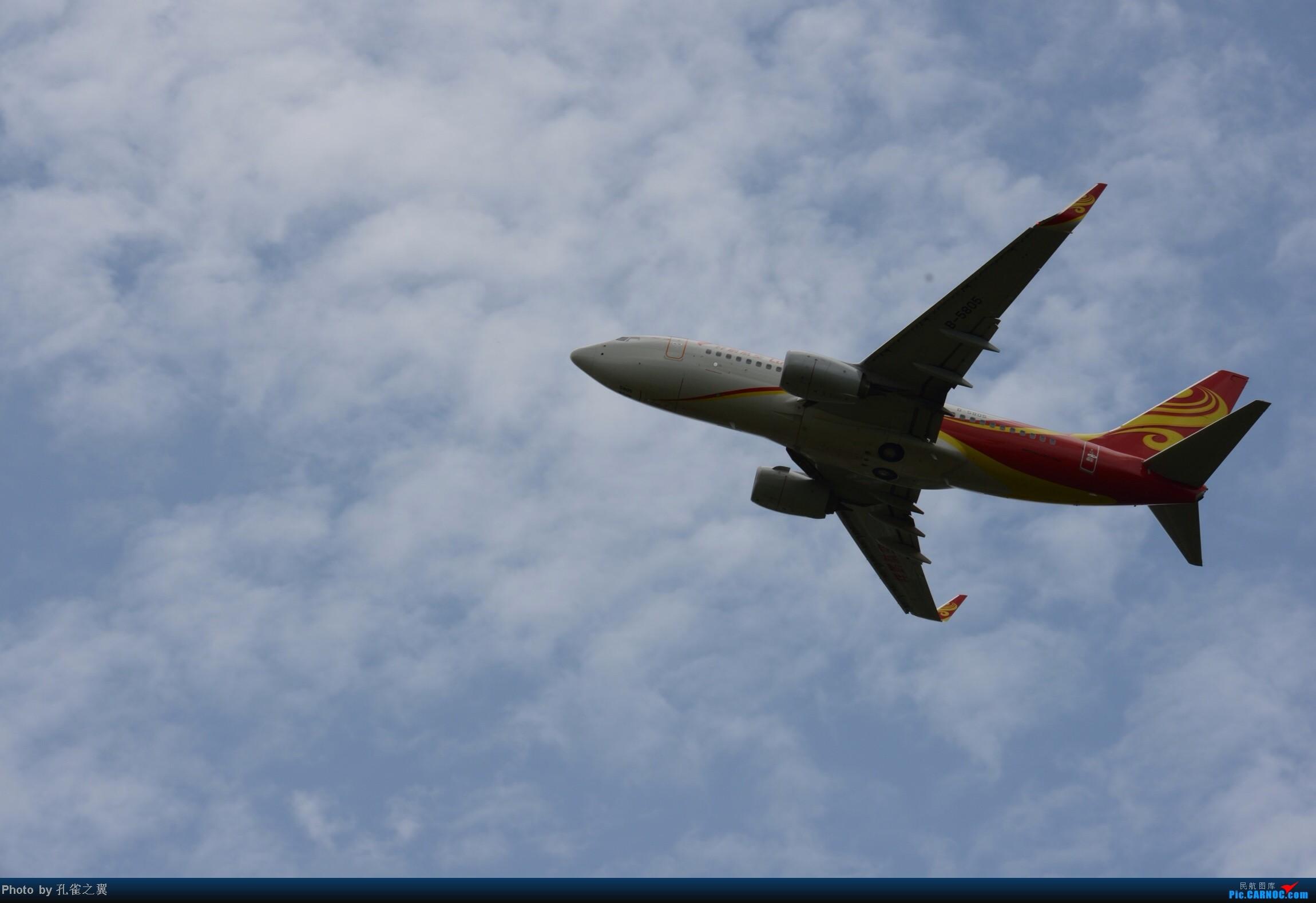 Re:[原创]LUM拍机 BOEING 737-700 B-5805 中国芒市机场