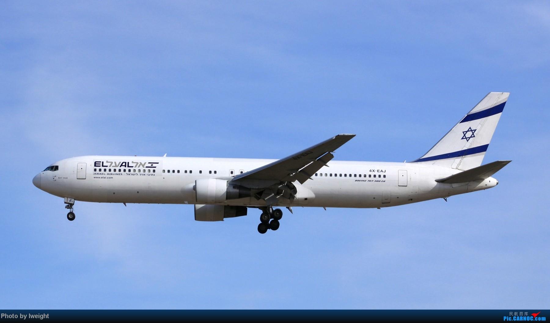 Re:[原创]春节期间首都机场拍机汇报 BOEING 767-300 4X-EAJ 中国北京首都机场