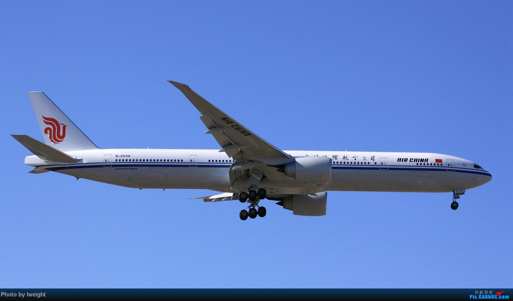 Re:[原创]春节期间首都机场拍机汇报 BOEING 777-300 B-2046 中国北京首都机场