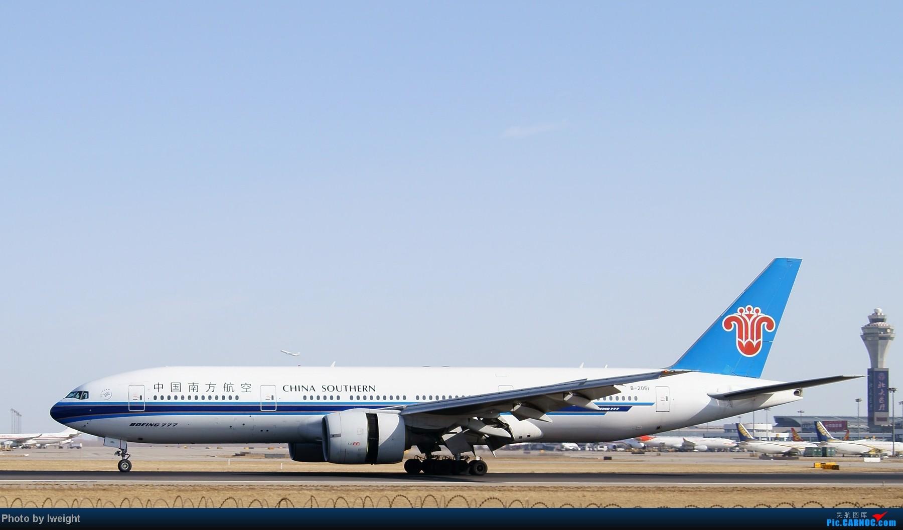 Re:[原创]春节期间首都机场拍机汇报 BOEING 777-200 B-2051 中国北京首都机场