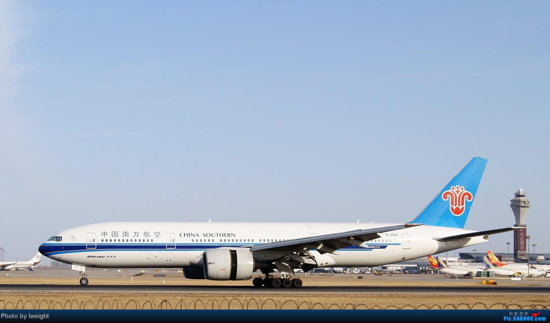 Re:[原创]春节期间首都机场拍机汇报 BOEING 777-200 B-2054 中国北京首都机场
