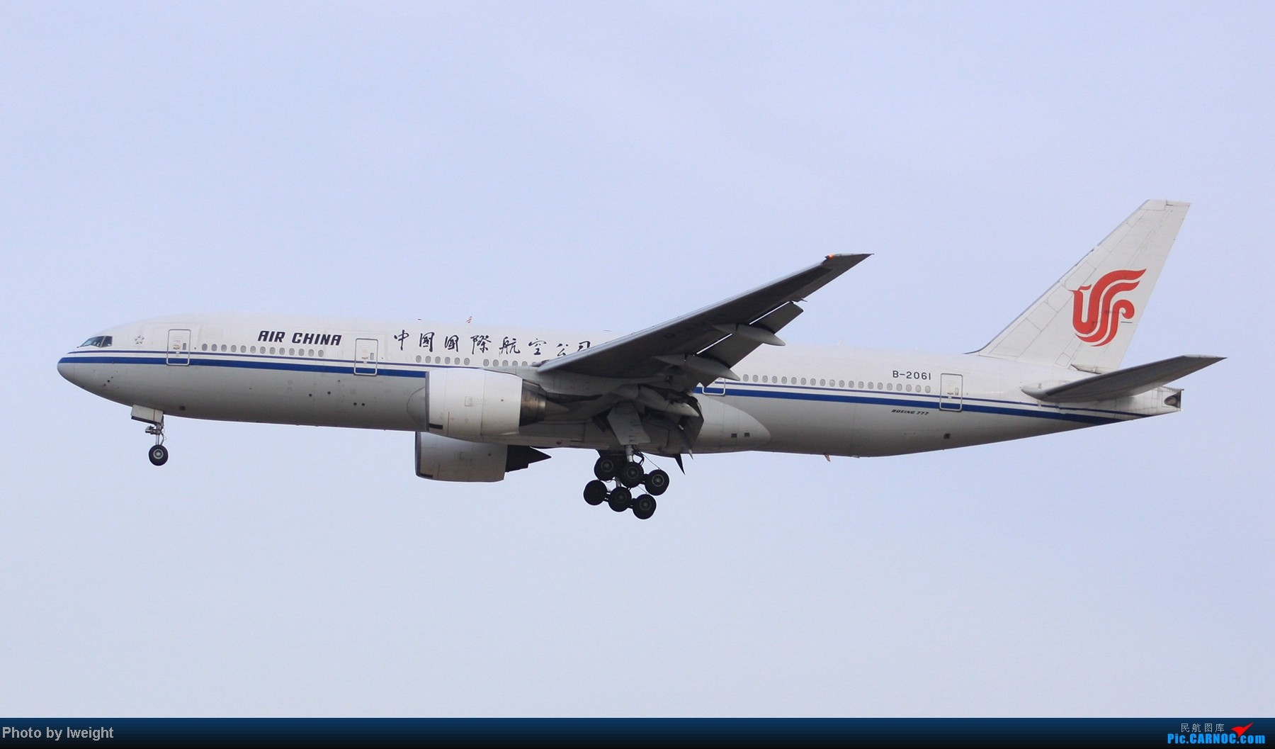 Re:[原创]春节期间首都机场拍机汇报 BOEING 777-200 B-2061 中国北京首都机场