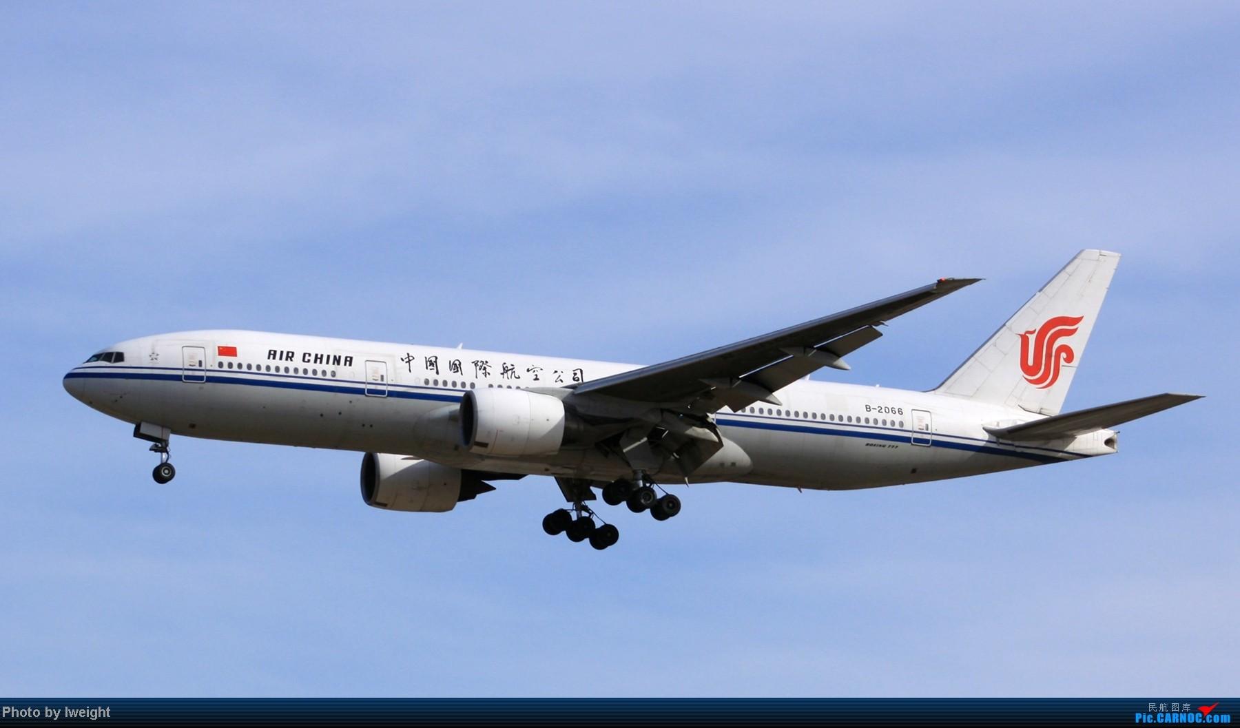 Re:[原创]春节期间首都机场拍机汇报 BOEING 777-200 B-2066 中国北京首都机场