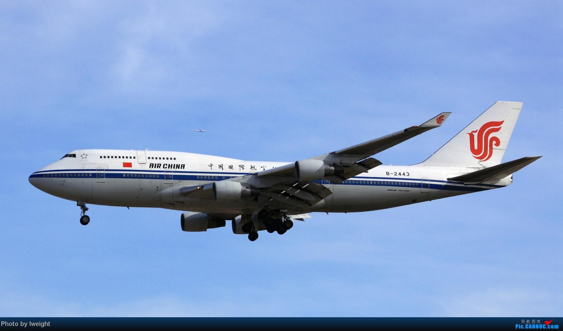 Re:[原创]春节期间首都机场拍机汇报 BOEING 747-400 B-2443 中国北京首都机场