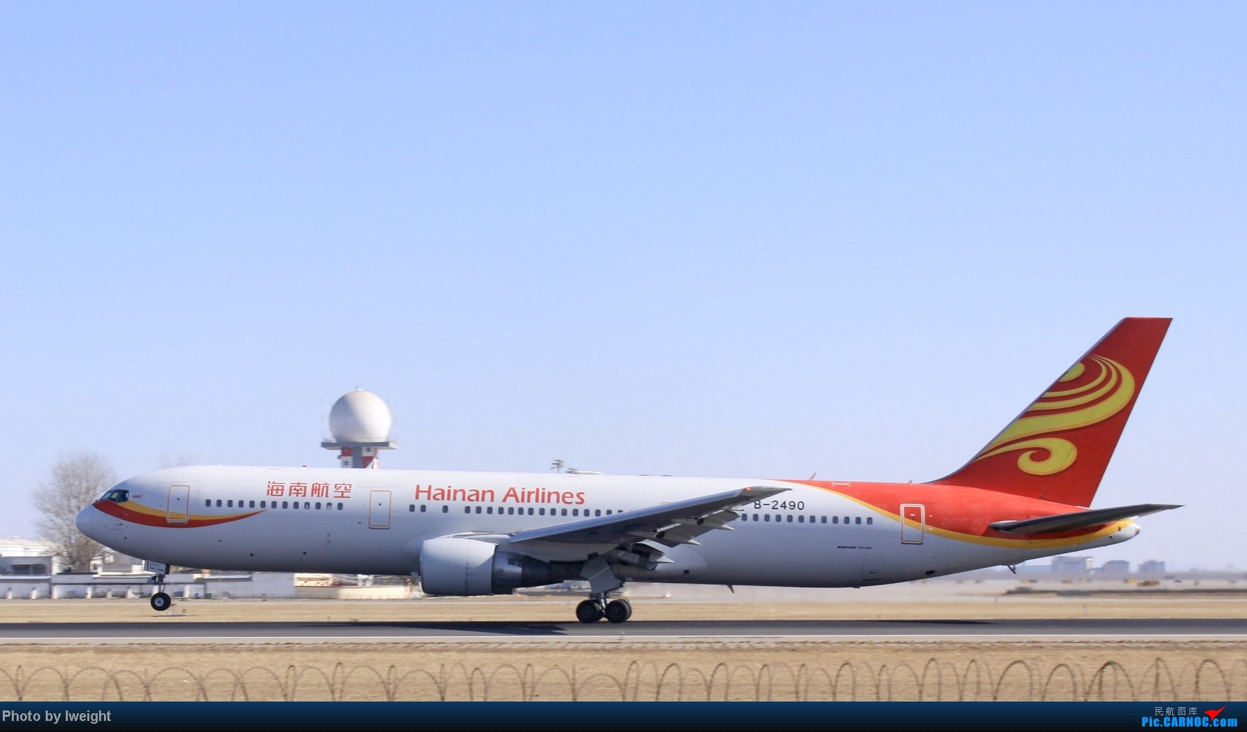 Re:[原创]春节期间首都机场拍机汇报 BOEING 767-300 B-2490 中国北京首都机场