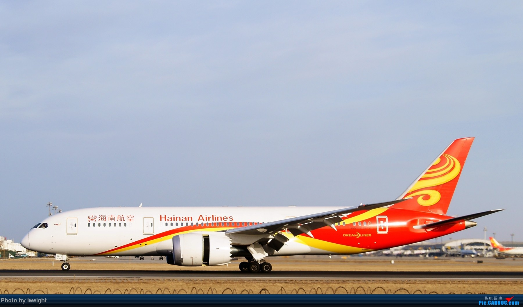 Re:[原创]春节期间首都机场拍机汇报 BOEING 787-8 B-2722 中国北京首都机场