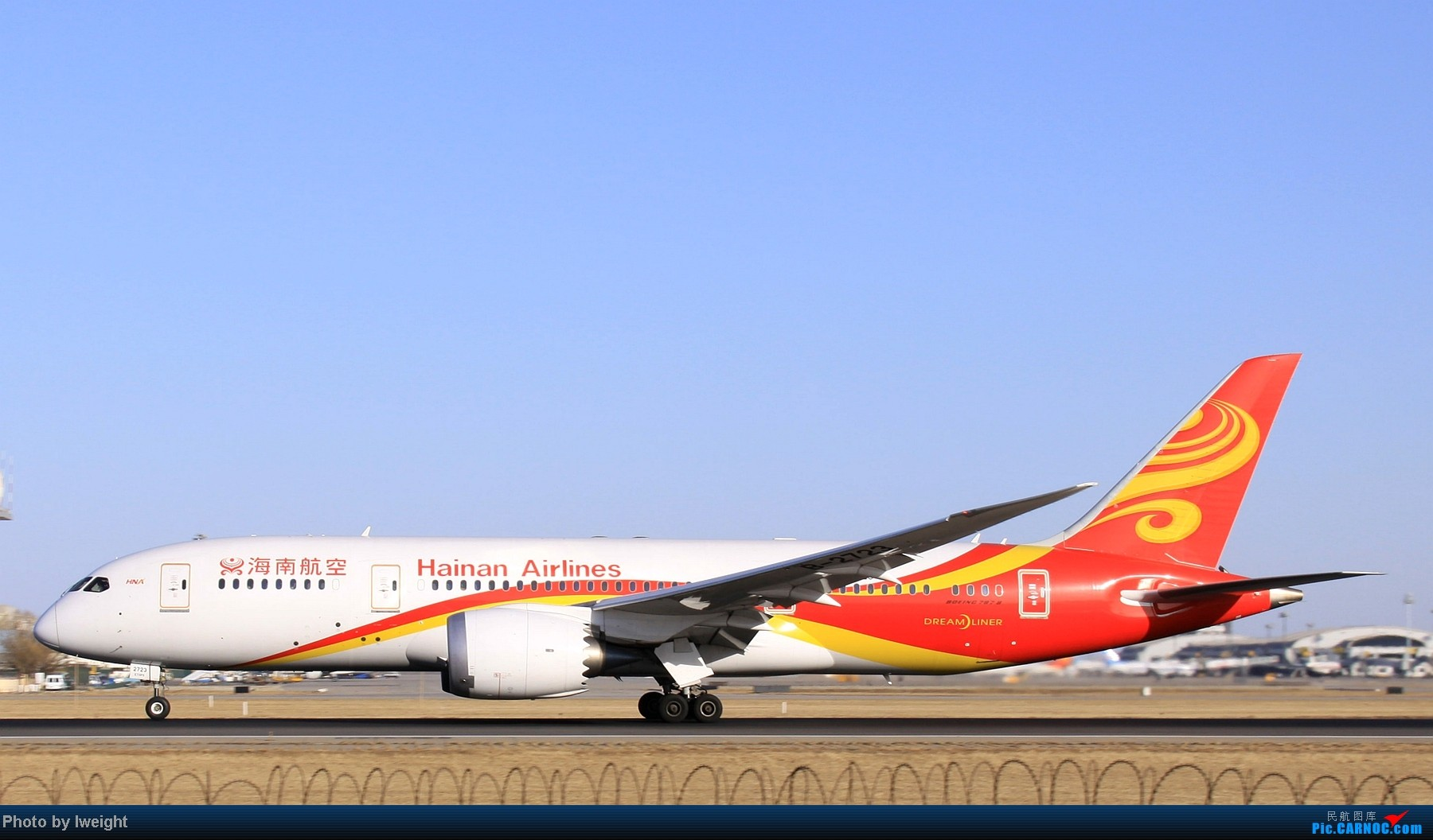 Re:[原创]春节期间首都机场拍机汇报 BOEING 787-8 B-2723 中国北京首都机场