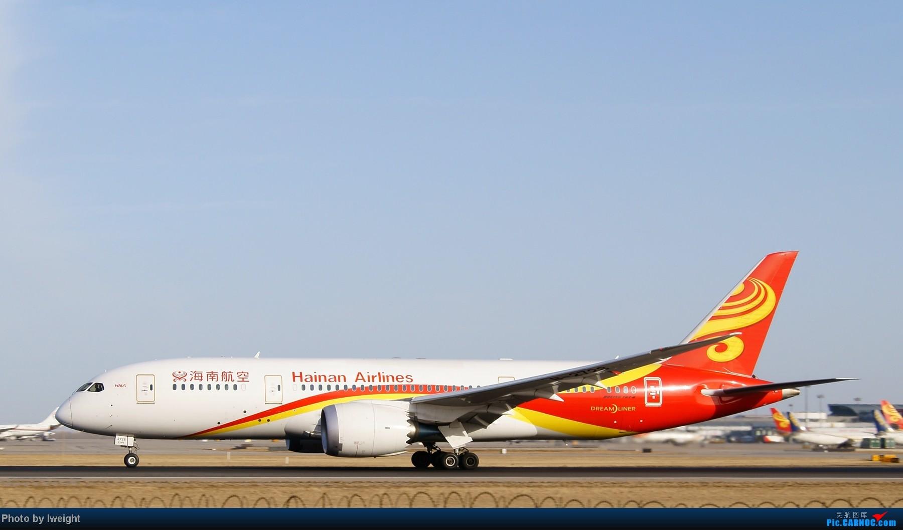 Re:[原创]春节期间首都机场拍机汇报 BOEING 787-8 B-2728 中国北京首都机场