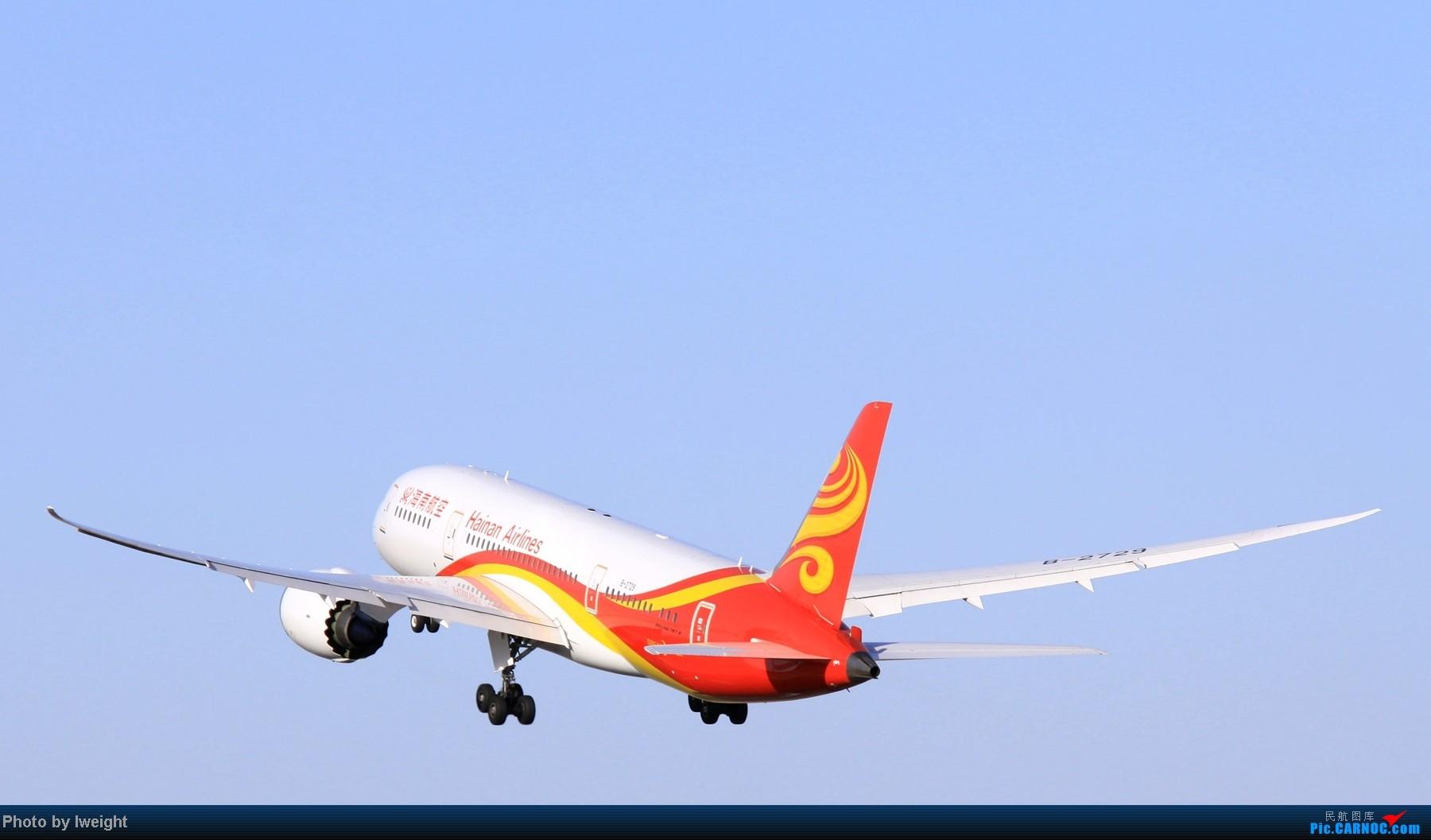 Re:[原创]春节期间首都机场拍机汇报 BOEING 787-8 B-2729 中国北京首都机场