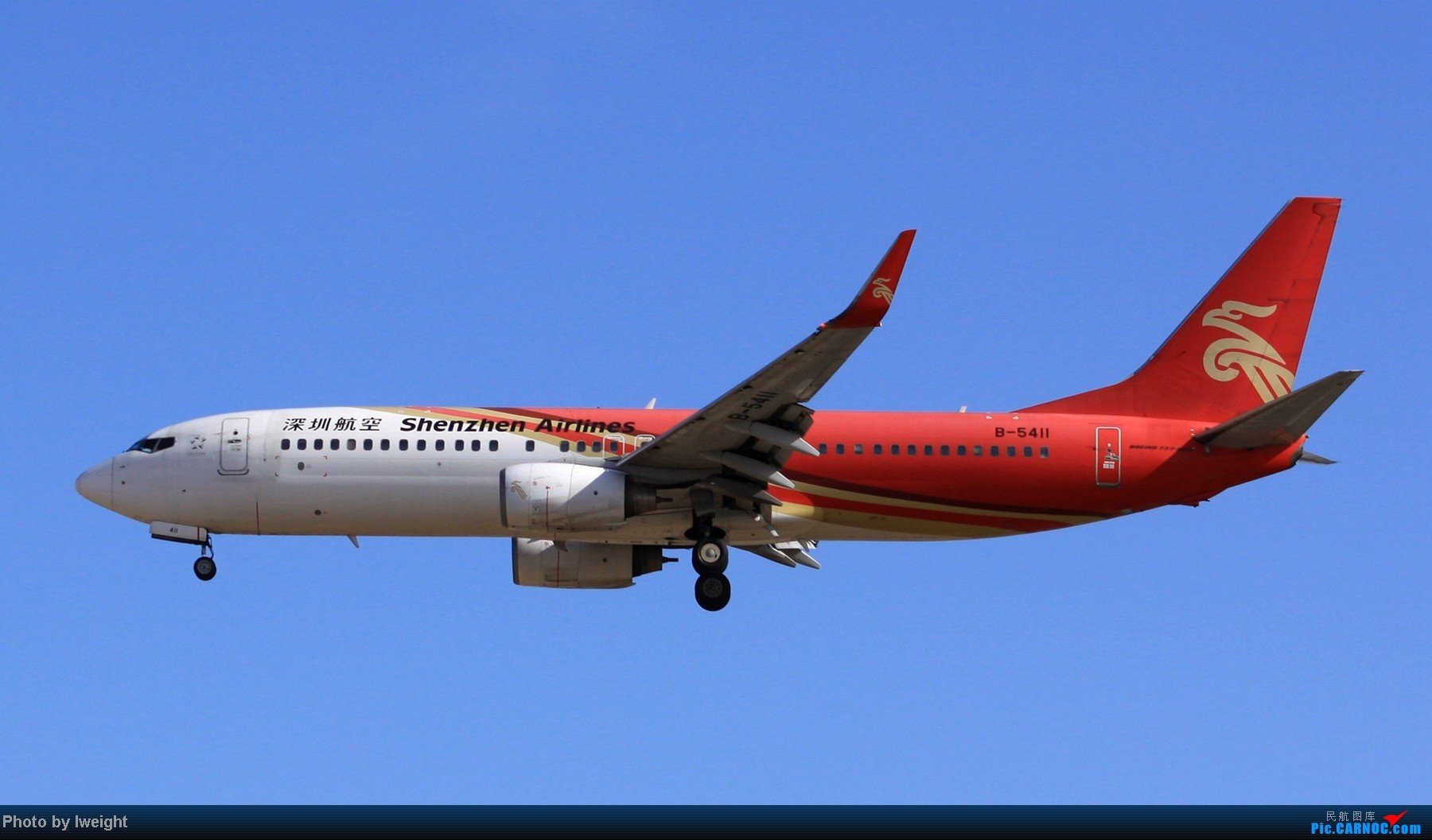 Re:[原创]春节期间首都机场拍机汇报 BOEING 737-800 B-5411 中国北京首都机场