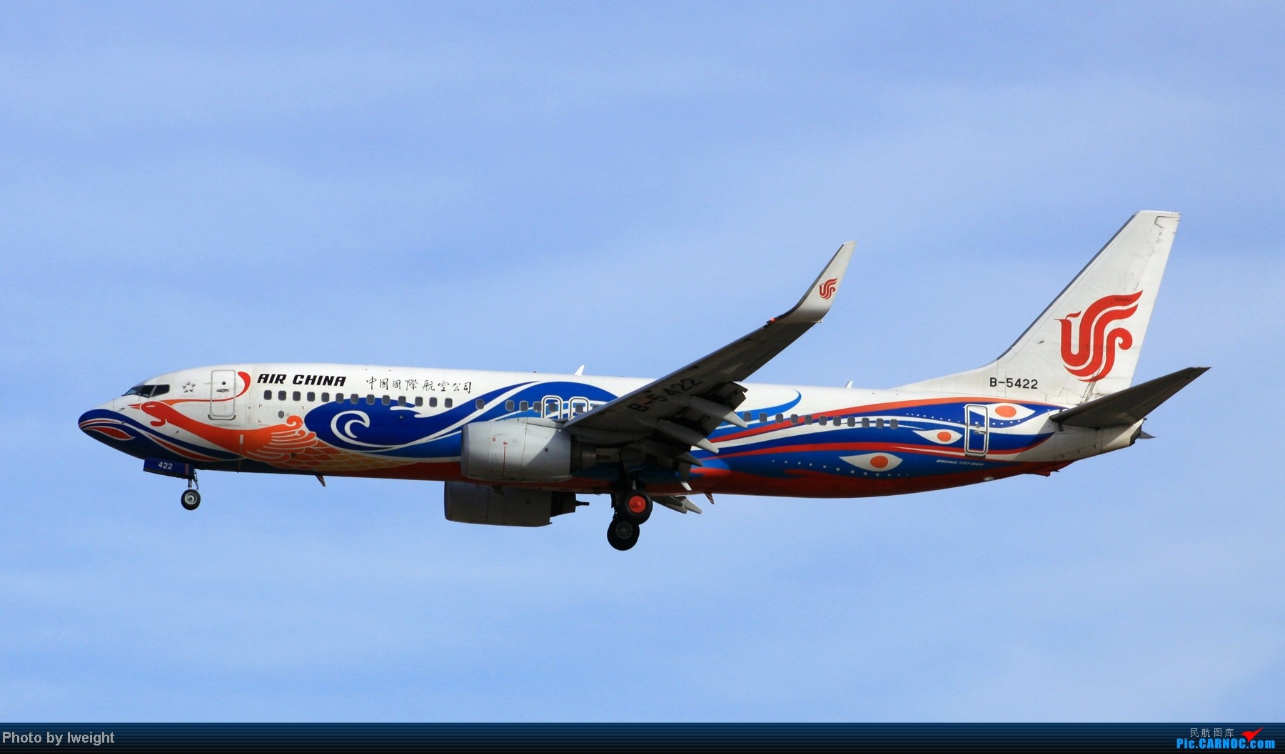 Re:[原创]春节期间首都机场拍机汇报 BOEING 737-800 B-5422 中国北京首都机场