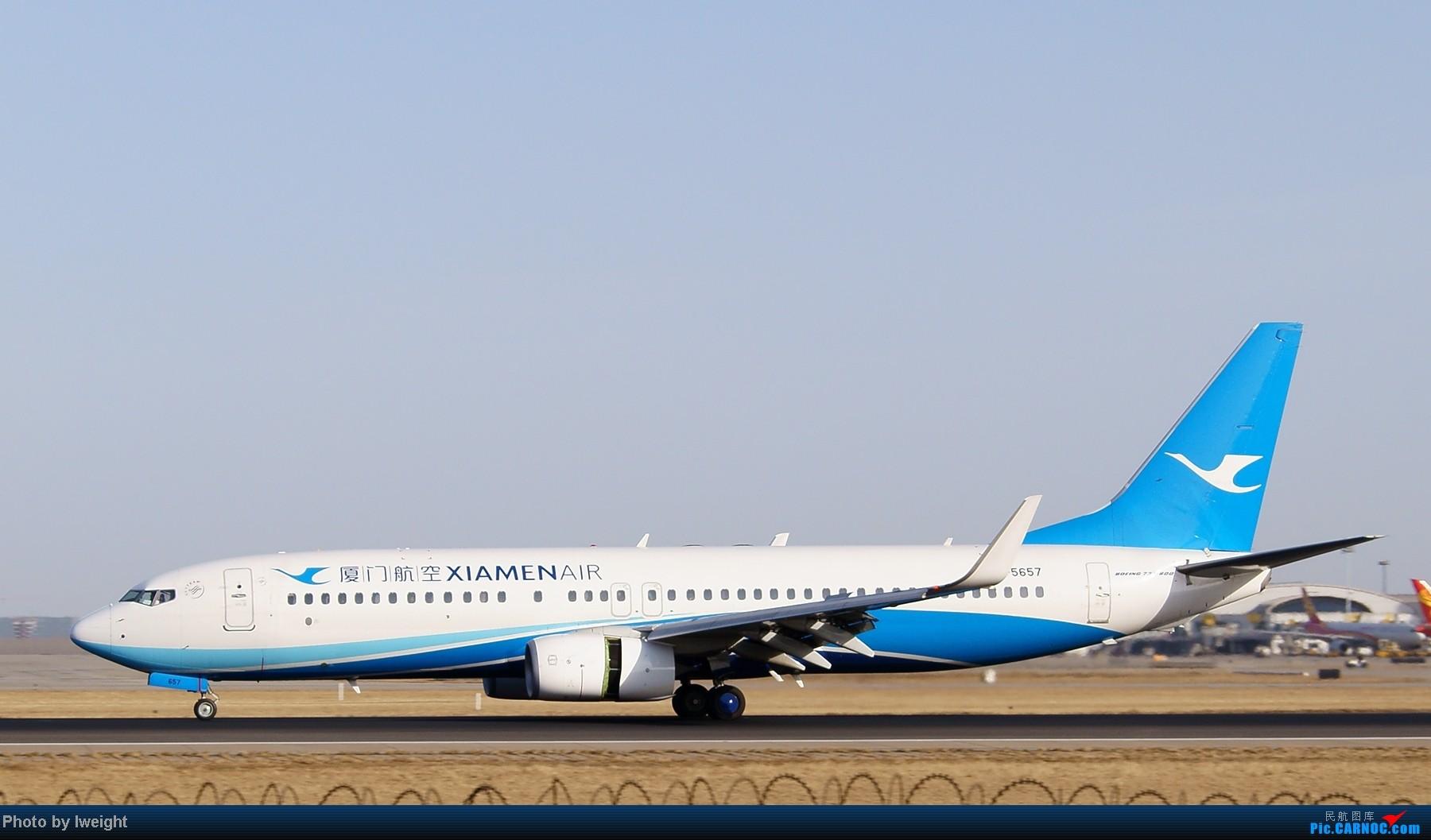 Re:[原创]春节期间首都机场拍机汇报 BOEING 737-800 B-5657 中国北京首都机场