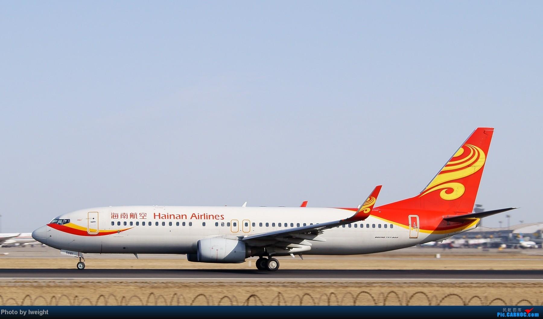 Re:[原创]春节期间首都机场拍机汇报 BOEING 737-800 B-5661 中国北京首都机场