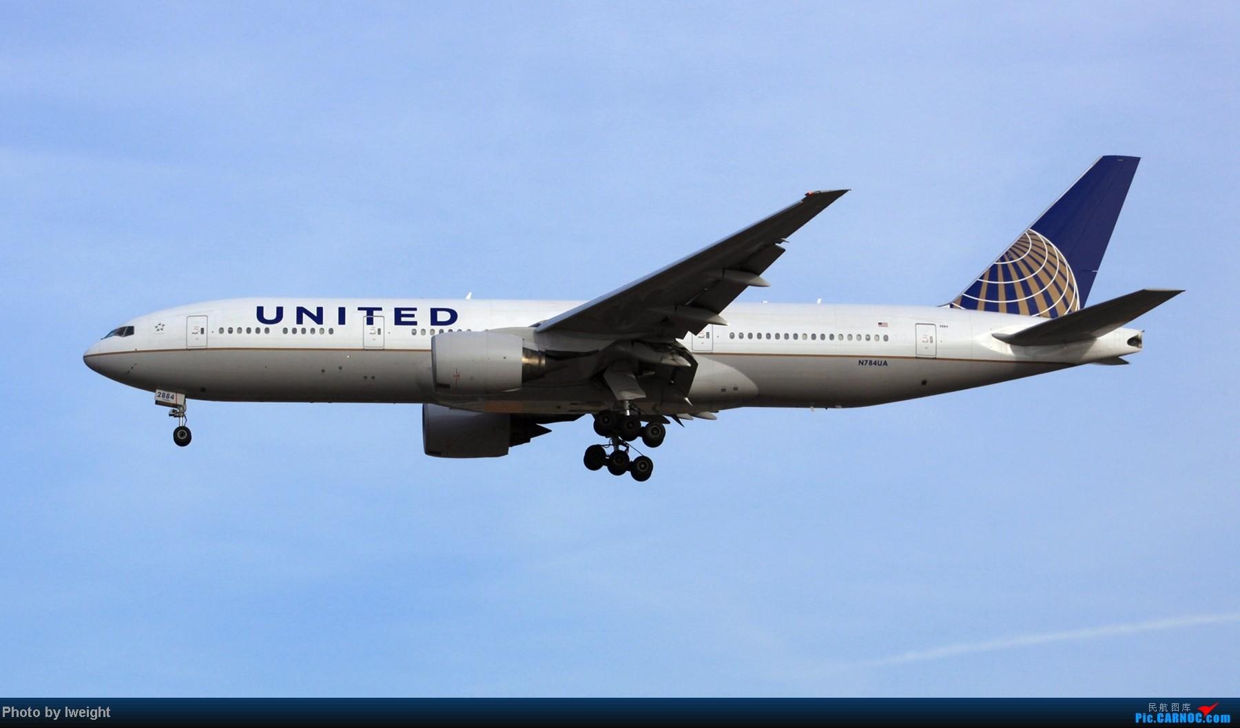 Re:春节期间首都机场拍机汇报 BOEING 777-200 N784UA 中国北京首都机场