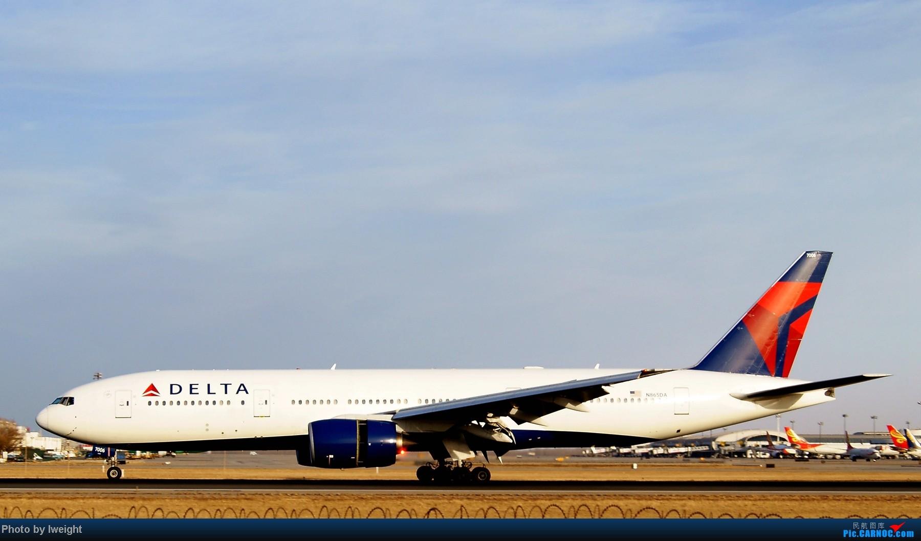 Re:[原创]春节期间首都机场拍机汇报 BOEING 777-200 N865DA 中国北京首都机场