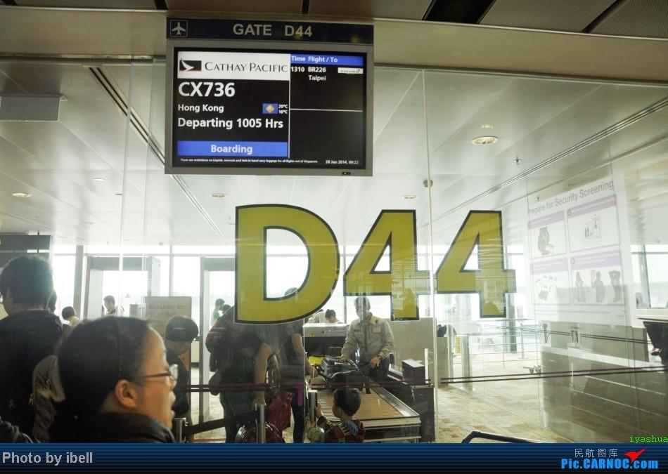 Re:[原创]【牙刷游记之七】SIN-HKG-CTU,国泰+港龙带我回国与家人共度2014马年春节!(有奖猜飞机,祝飞友们马到功成!)    新加坡樟宜机场