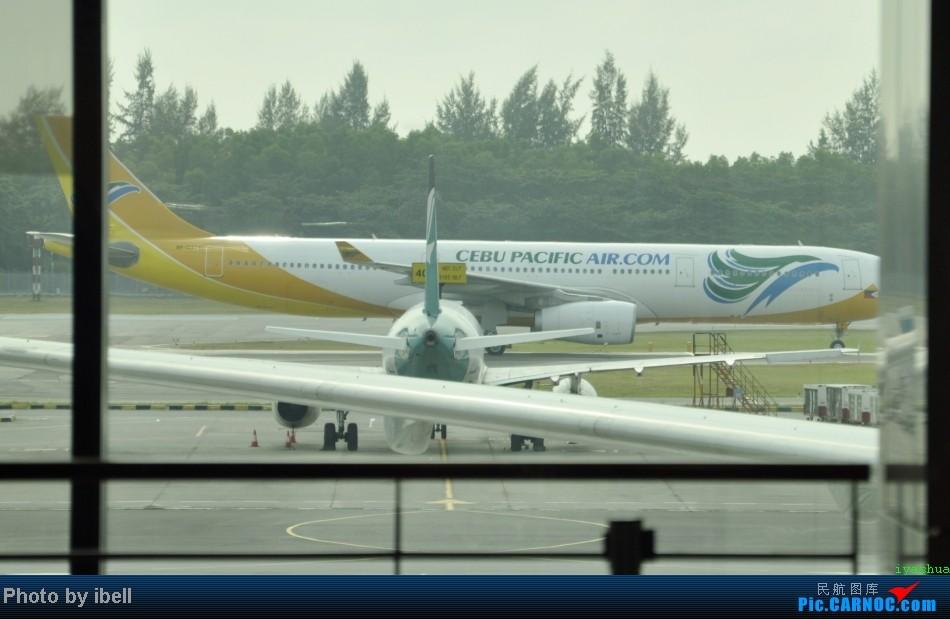 Re:[原创]【牙刷游记之七】SIN-HKG-CTU,国泰+港龙带我回国与家人共度2014马年春节!(有奖猜飞机,祝飞友们马到功成!) AIRBUS A330-343 RP-C3341 新加坡樟宜机场