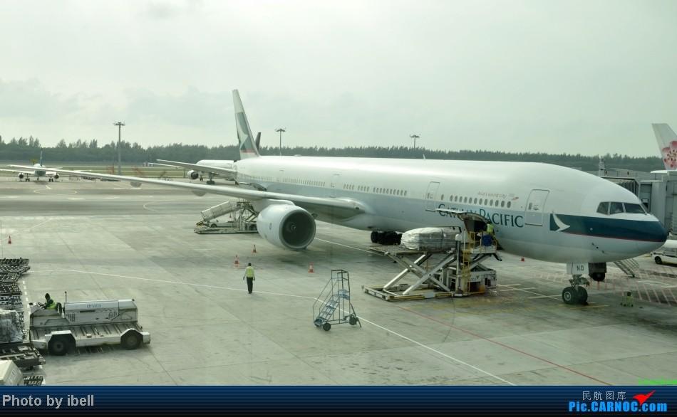 Re:[原创]【牙刷游记之七】SIN-HKG-CTU,国泰+港龙带我回国与家人共度2014马年春节!(有奖猜飞机,祝飞友们马到功成!) BOEING 777-300 B-HNO 新加坡樟宜机场