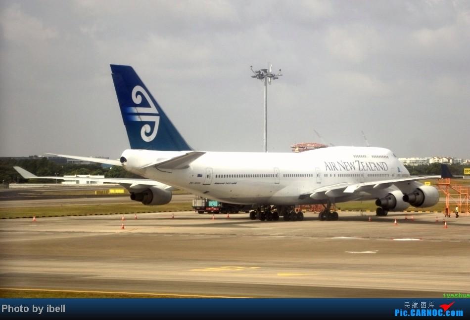 Re:[原创]【牙刷游记之七】SIN-HKG-CTU,国泰+港龙带我回国与家人共度2014马年春节!(有奖猜飞机,祝飞友们马到功成!) BOEING 747-475 ZK-SUH 新加坡樟宜机场