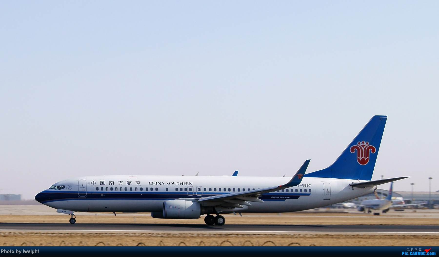 Re:[原创]春节期间首都机场拍机汇报 BOEING 737-800 B-5697 中国北京首都机场