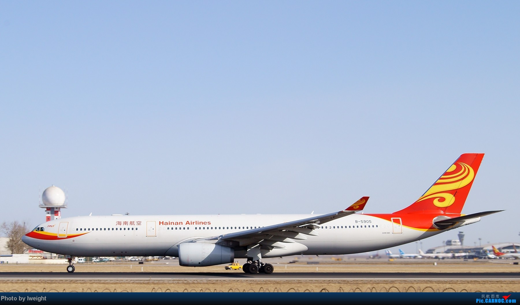 Re:[原创]春节期间首都机场拍机汇报 AIRBUS A330-300 B-5905 中国北京首都机场