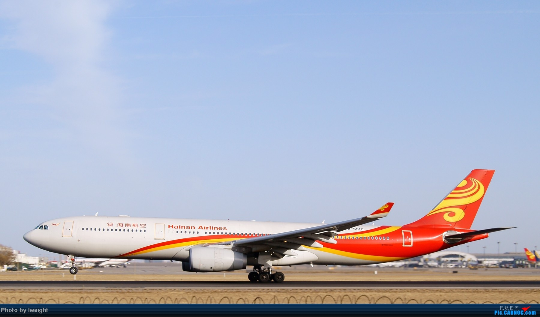 Re:[原创]春节期间首都机场拍机汇报 AIRBUS A330-300 B-5910 中国北京首都机场