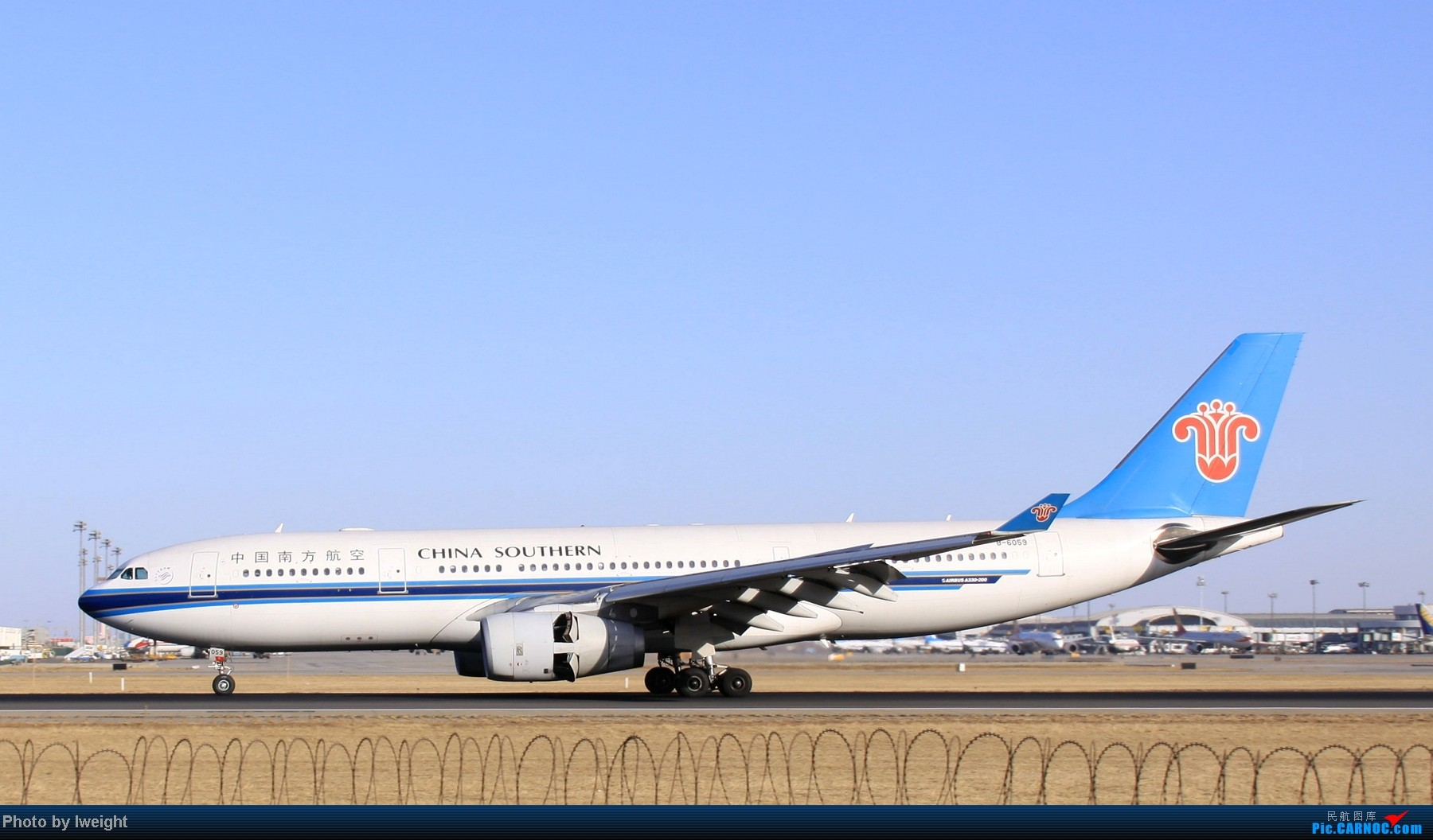 Re:[原创]春节期间首都机场拍机汇报 AIRBUS A330-200 B-6059 中国北京首都机场
