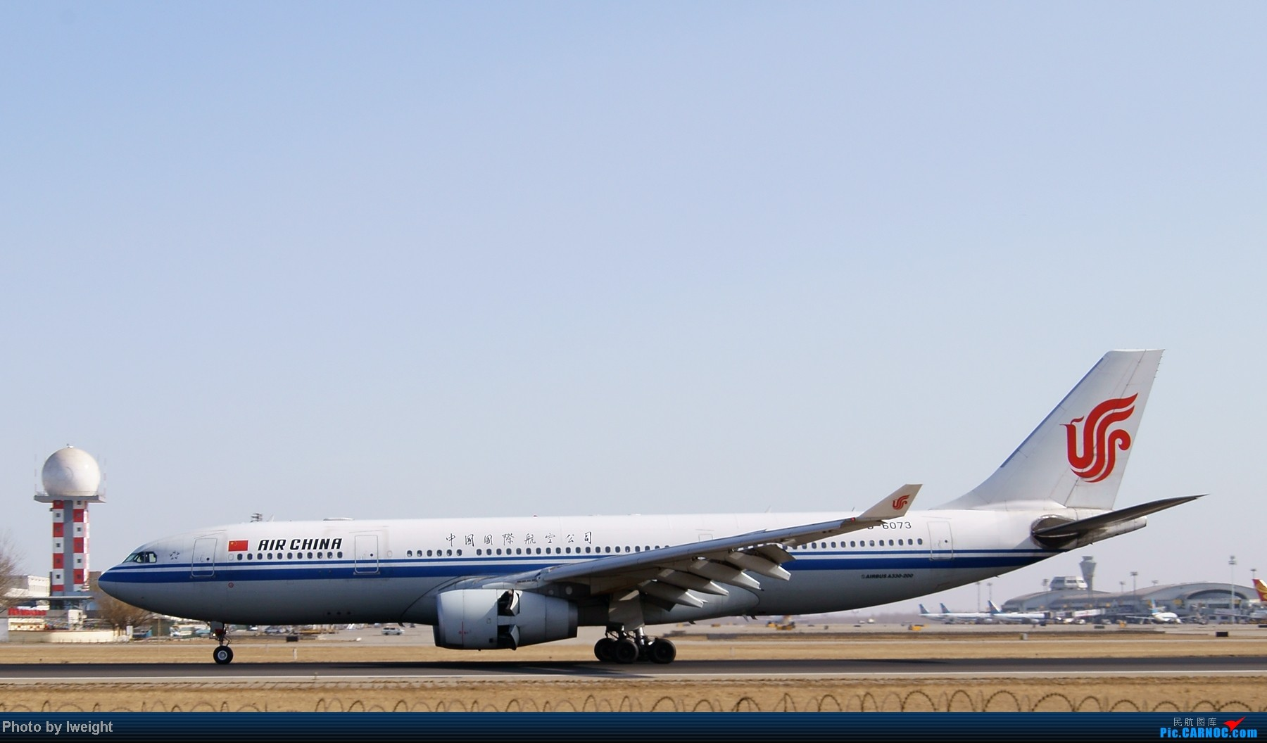 Re:[原创]春节期间首都机场拍机汇报 AIRBUS A330-200 B-6073 中国北京首都机场