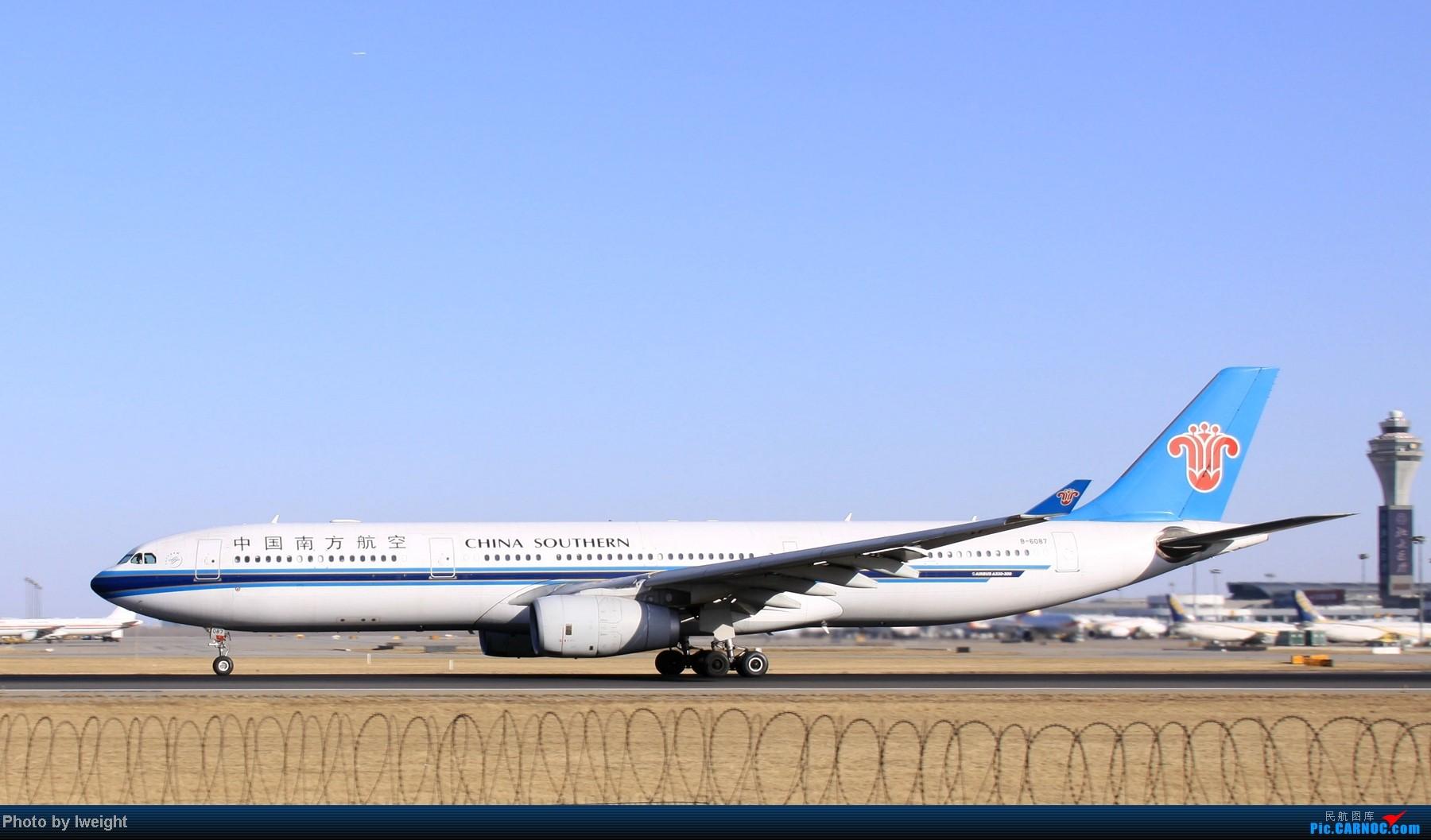 Re:[原创]春节期间首都机场拍机汇报 AIRBUS A330-300 B-6087 中国北京首都机场