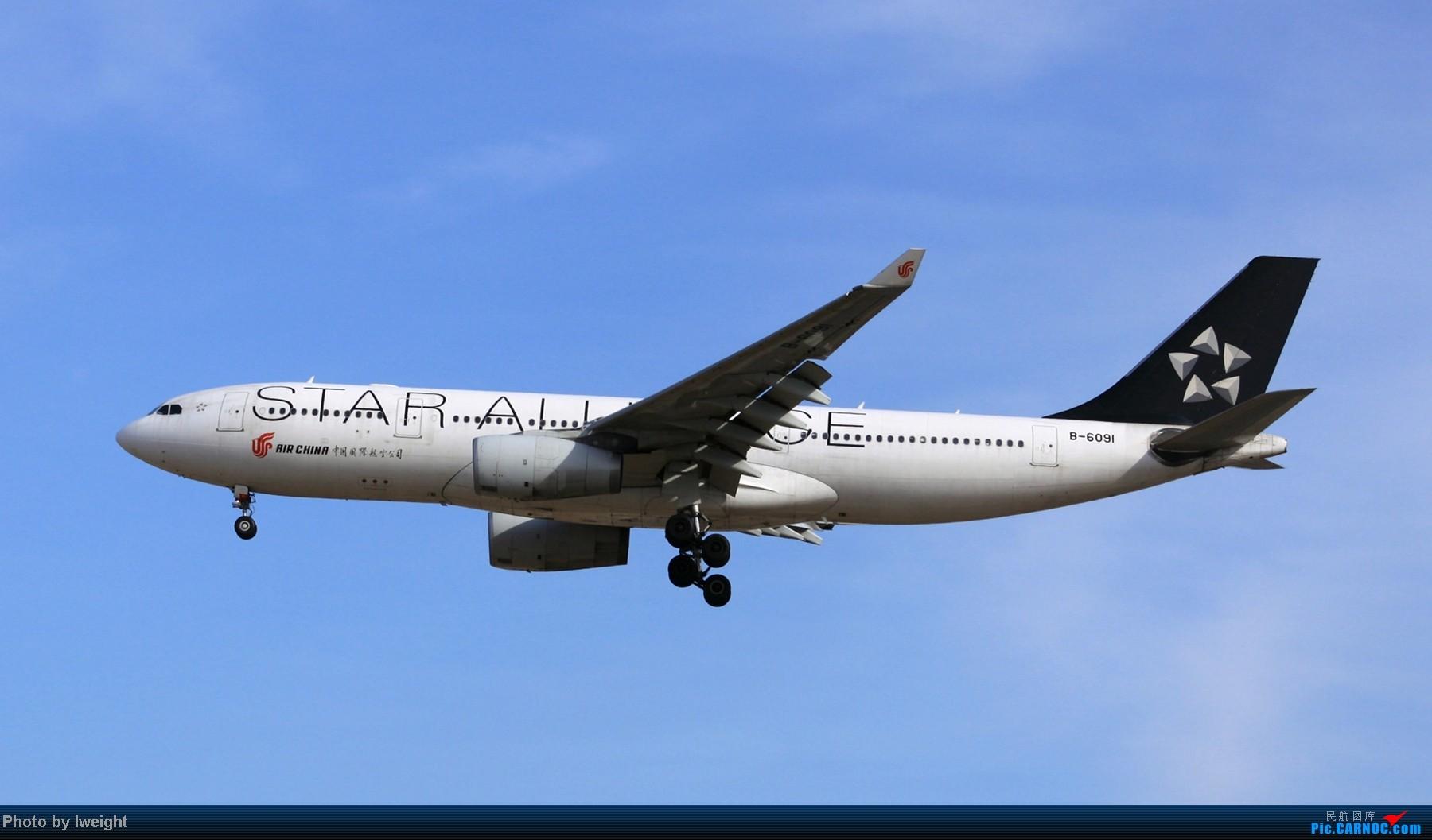 Re:[原创]春节期间首都机场拍机汇报 AIRBUS A330-200 B-6091 中国北京首都机场