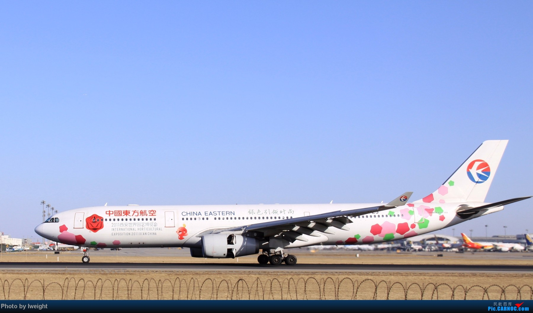 Re:[原创]春节期间首都机场拍机汇报 AIRBUS A330-300 B-6129 中国北京首都机场