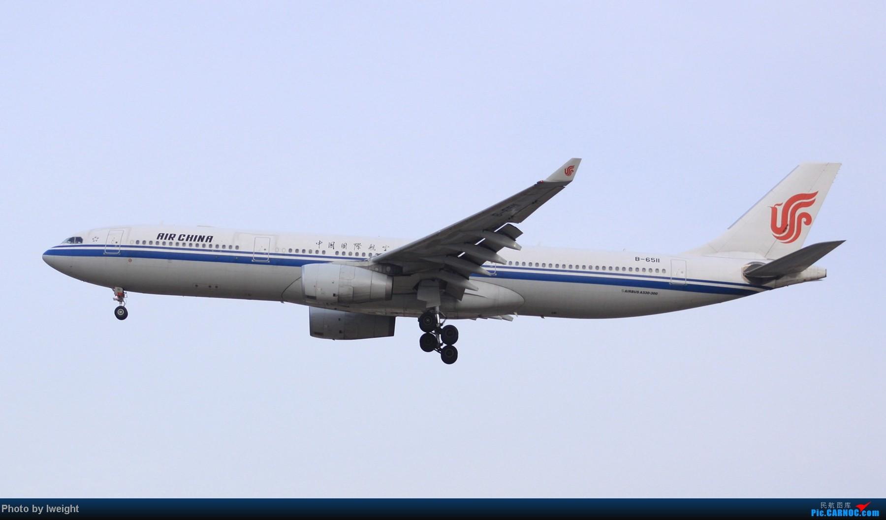 Re:[原创]春节期间首都机场拍机汇报 AIRBUS A330-300 B-6511 中国北京首都机场